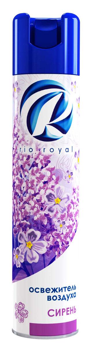 Освежитель воздуха Rio Royal Сирень, 300 мл23756Освежитель воздуха «Рио ройял» предназначен для устранения неприятных запахов в различных помещениях. Обладает длительным действием, надолго наполняя ваш дом благоухающими ароматами.