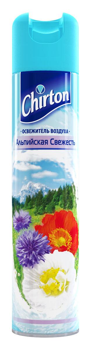 Освежитель воздуха Chirton Альпийская свежесть, 300 мл30679Чиртон представляет новейшую серию освежителей для вашего дома с его незабываемыми ароматами на любой вкус. Высокое качество позволит быстро избавиться от неприятных запахов в любом уголке вашего дома. Легко устраняет неприятные запахи, надолго наполняя дом неповторимыми нежными ароматами.