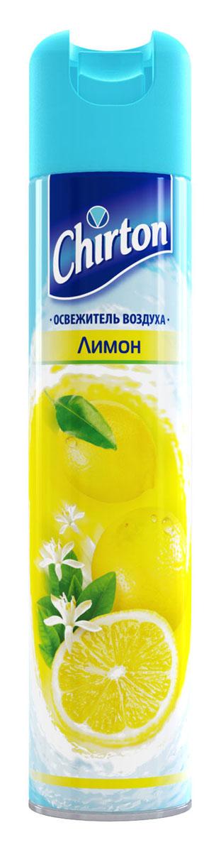 Освежитель воздуха Chirton Лимон, 300 мл30211Чиртон представляет новейшую серию освежителей для вашего дома с его незабываемыми ароматами на любой вкус. Высокое качество позволит быстро избавиться от неприятных запахов в любом уголке вашего дома. Легко устраняет неприятные запахи, надолго наполняя дом неповторимыми нежными ароматами.