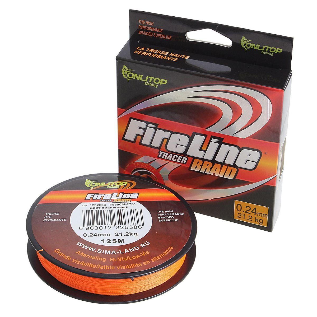 Плетеный шнур Onlitop Easy Cast, толщина 0,24 мм, длина 125 м, цвет: оранжевый03/1/12Особенности Шнур Easy Cast : низкая цена шнура;низкая гигроскопичность (не впитывает воду);положительная плавучесть;устойчивость к соленой воде (шнуры для морской рыбалки);устойчивость к агрессивным средам;не теряет свойств до 80 градусов Цельсия ;широкая гамма цветов.