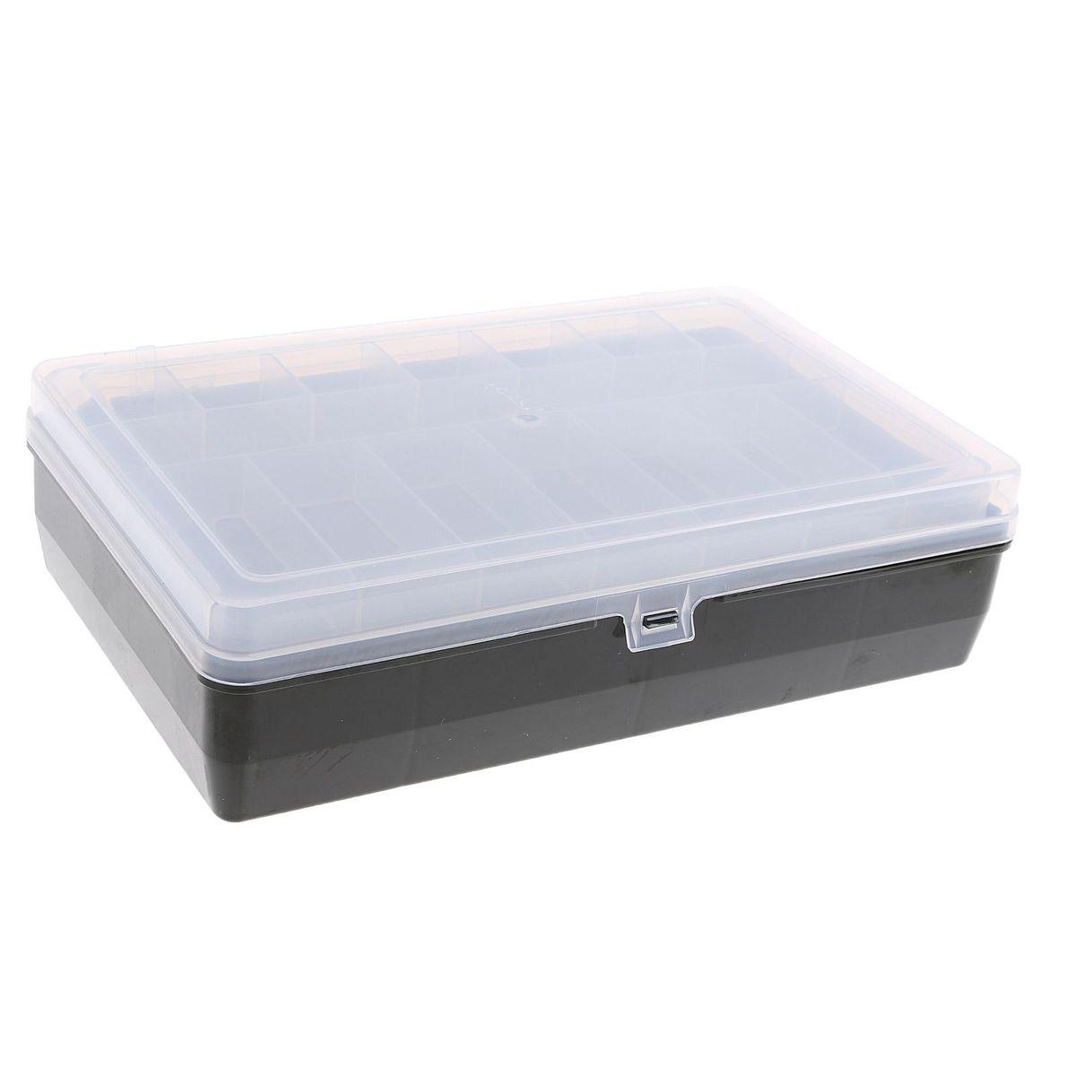 Коробка для крючков и насадок Тривол, двухъярусная , цвет: зеленый, 24х15х6,5 смH009Коробки для крючков, как и другие аксессуары для рыбалки, помогут сделать процесс подготовки к самой рыбной ловле максимально удобным. Сегодня мы можем предложить всем нашим посетителям такие коробки для крючков, которые идеально подойдут в любое время года, для любого типа рыбалки и помогут вовремя отыскать среди всех снастей именно те, которые необходимы на данный момент.