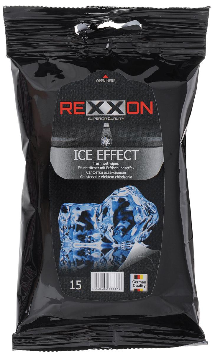 Салфетки влажные Rexxon Ice Effect, гигиенические, 15 шт2-1-3-0-1Влажные салфетки Rexxon Ice Effect изготовлены из нетканого материала и пропитывающего лосьона. Они предназначены для очищения и тонизирования кожи рук и лица. Снимают чувство усталости и напряжения, гипоаллергенны. Салфетки Rexxon Ice Effect подходят для всех типов кожи. Состав пропитывающего лосьона: деминерализованная вода, пропиленгликоль, алкилполиглюкозид, феноксиэтанол, бензоат натрия, отдушка, ЭДТА. Товар сертифицирован.