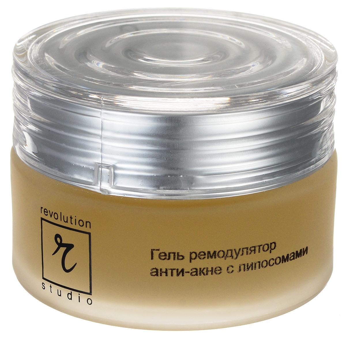 R-Studio Гель-ремодулятор анти-акне ночной с липосомами 50 млБ33041Гель-ремодулятор анти-акне ночной с липосомами - высокоэффективное предотвращение старения клеток кожи:глубоко проникает в кожу и эффективно воздействует на очаг воспаления; улучшает состояние и внешний вид кожи; приводит в норму ее влажность, жирность и эластичность; активизирует процесс регенерации кожи.