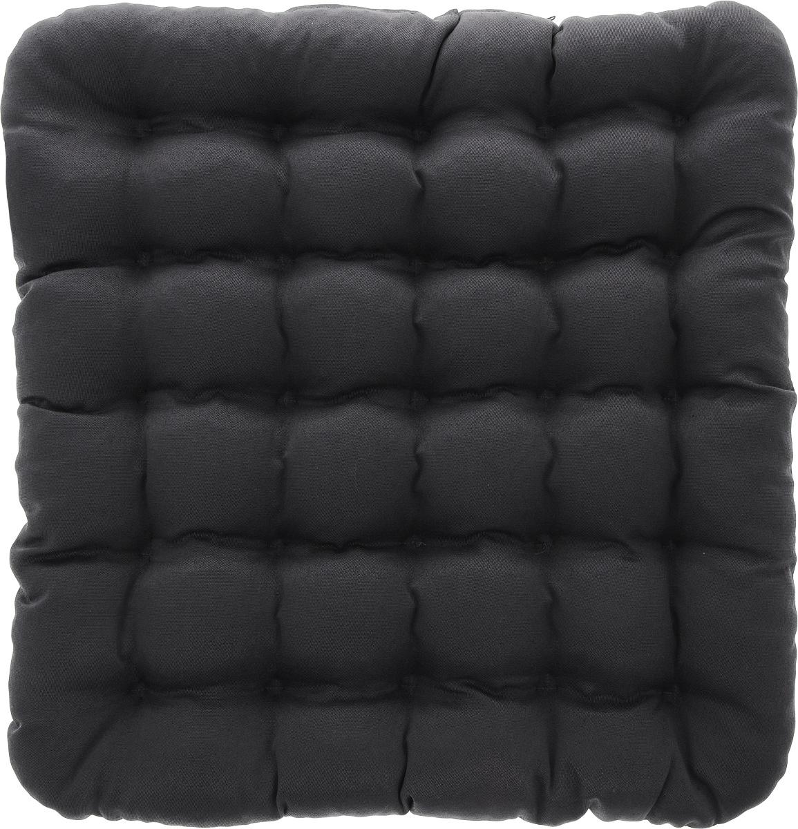Подушка на стул Smart Textile Уют, наполнитель: лузга гречихи, 40 х 40 смT428Квадратная подушка Smart Textile Уют выполнена из хлопчатобумажной ткани и полиэстера, внутри - наполнитель из лепестков гречишной лузги. Изделие простегано на ячейки, тем самым обеспечивая еще больший массажный эффект, а плотная износостойкая ткань хорошо удерживает наполнитель, сохраняет форму и обеспечивает долгий срок службы. Такая подушка обладает множеством полезных качеств: - Хорошо проветривается; - Предупреждает потение; - Поддерживает комфортную температуру; - Обминается по форме тела; - Обеспечивает микромассаж; - Улучшает кровообращение; - Исключает затечные явления; - Предупреждает развитие заболеваний, связанных с сидячим образом жизни. Подушка Smart Textile Уют прекрасно подходит для любых стульев и кресел. Застежка-молния позволяет регулировать плотность наполненности подушки. Подушка упакована в пластиковую сумку-чехол на застежке- молнии с ручкой для комфортной переноски и хранения. ...