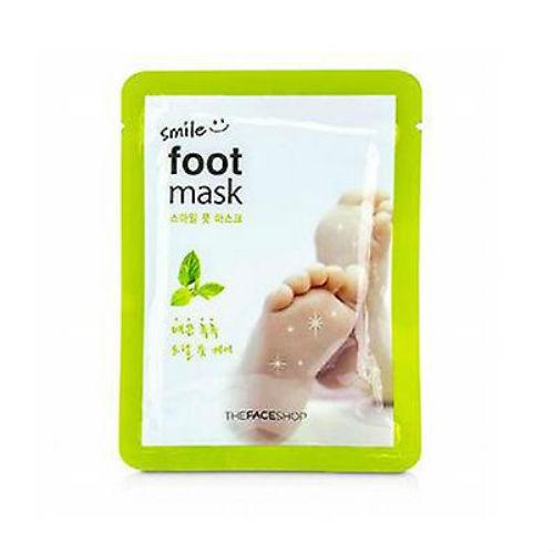 The Face Shop Маска для ног Smile Foot, 18 млУТ000001683Специальная маска для кожи ног пропитана маслом дерева ши и маслом мяты. Смягчает кожу ног, ухаживает за ногтями. Дарит ногам ощущение свежести.