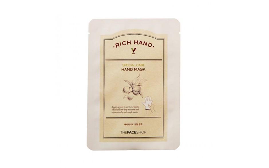 The Face Shop Маска для рук Rich Hand, 1,6 г УТ000001682