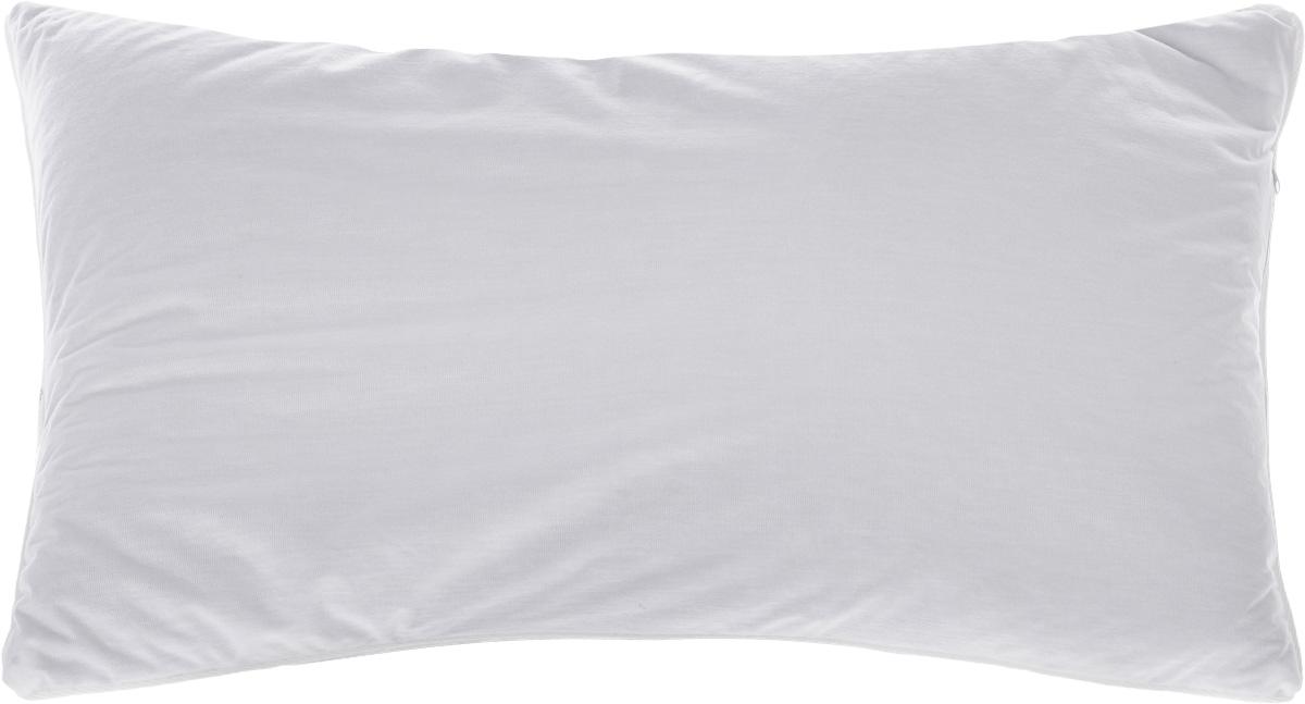 Подушка Smart Textile Эко-сон, наполнитель: лузга гречихи, 38 х 58 смS03301004Подушка Smart Textile Эко-сон подарит вам незабываемое чувство комфорта и умиротворения. Чехол выполнен из ткани тенсель. Изделие имеет окантовку и застежку-молнию, через которую удобно отсыпать наполнитель, если подушка вам покажется высокой или плотной. Тенсель - это ткань натурального происхождения, которая выполнена из древесного австралийского эвкалипта. Верхний слой 100% Tentel, который покрыт дышащей, водоотталкивающей, полиуретановой оболочкой. Наполнителем в такой подушке является лузга гречихи.Лузга гречихи дает естественную поддержку головы в удобном положении во время сна, улучшая кровоток, обеспечивает максимальный прилив бодрости и сил после отдыха. Лепестки лузги гречихи имеют полую трехгранную структуру, наполнитель легкий и динамичный, позволяет принять во сне естественную поддержку головы в удобном положении.Подушка обладает антибактериальной активностью к культурам St.aureus (Золотистый стафилококк) и Kl.pneumonia (Клебсиелла пневмония).Аллергия - это довольно неприятное явление для человека, обладающего повышенной чувствительностью к какому-либо компоненту окружающей его среды. Одним из самых распространенных аллергенов - это пыль, а точнее пылевые клещи, которые и вызывают недомогания. Лечение аллергии - довольно сложный процесс. Поэтому эффективнее всего будет профилактика аллергии. Лучший способ предотвратить возникновение аллергической реакции - это избегать контакта с аллергеном или, по крайней мере, свести эти контакты к минимуму. Ткань непроницаема для клеща, домашней пыли и аллергенов. При этом она сохраняет проницаемость для воздуха и паров воды. Клещ не получает основную его пищу - это мельчайшие частицы нашей кожи, поэтому быстро гибнет. Рекомендации по уходу:Ручная стирка при температуре воды до 60°С.Отбеливание запрещено.Разрешены деликатная барабанная сушка, химчистка и глажка.