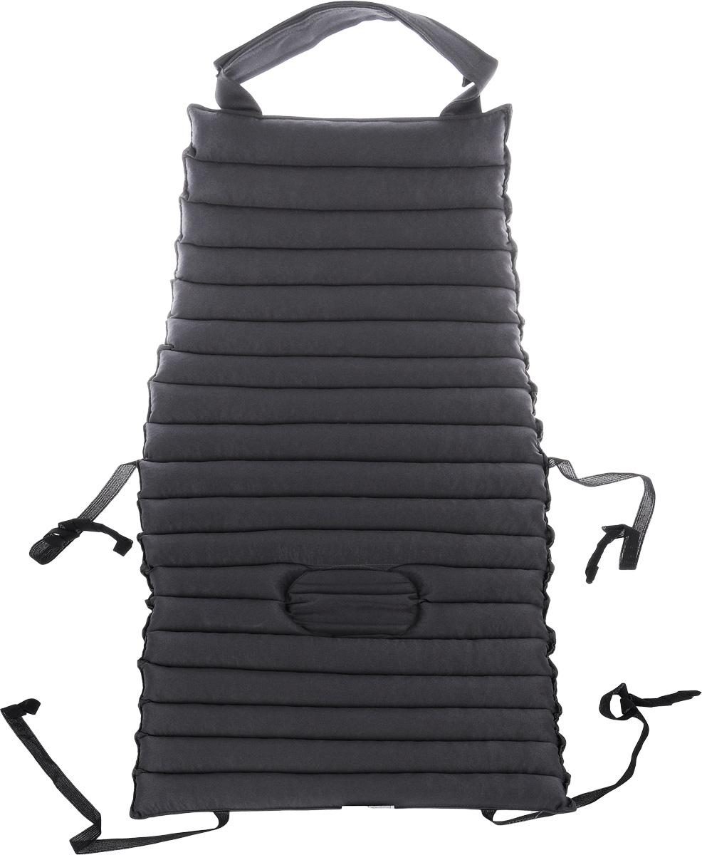 Накидка на водительское кресло Smart Textile Гемо-комфорт авто, наполнитель: лузга гречихи, 80 х 40 смT457Накидка Smart Textile Гемо-комфорт авто создана для тех, кто вынужден проводить много времени в автомобильном кресле. Наполнителем служат лепестки лузги гречихи, которые обеспечивают микромассаж кожи и поверхностных мышц, а также обеспечивают удобную посадку и снимают напряжение. Особенности накидки: - Хорошо проветривается. - Предупреждает потение. - Поддерживает комфортную температуру. - Обминается по форме тела. - Улучшает кровообращение. - Исключает затечные явления. - Предупреждает развитие заболеваний, связанных с сидячим образом жизни. Конструкция накидки, составленная из ряда валиков, обеспечивает еще больший массажный эффект, а плотная износостойкая ткань хорошо удерживает наполнитель, сохраняет форму накидки и продлевает срок службы изделия.