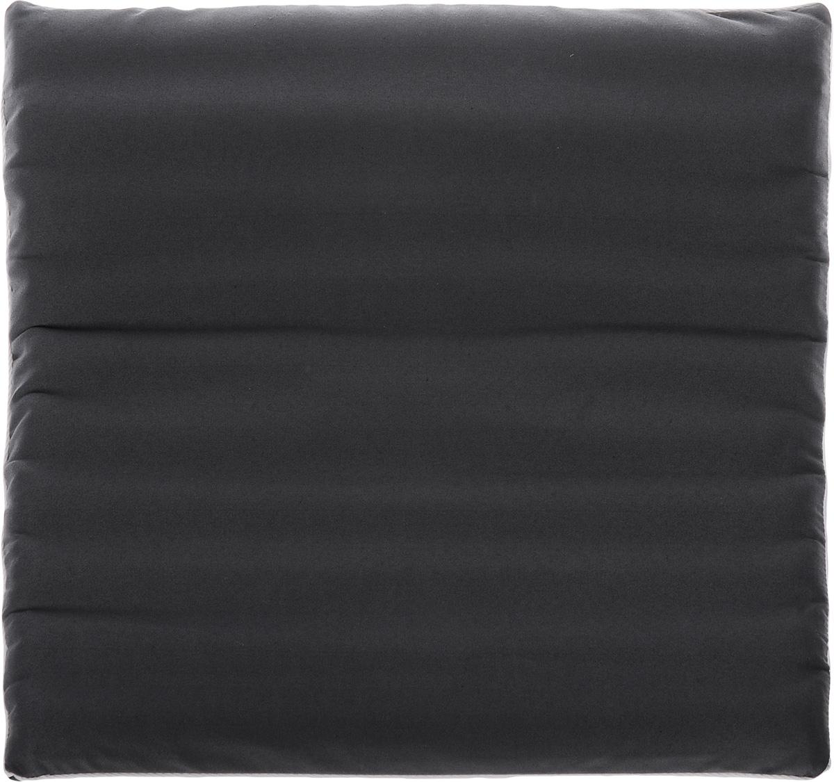 Подушка на сиденье Smart Textile Гемо-комфорт офис, с чехлом, наполнитель: лузга гречихи, 50 х 50 смT579Подушка на сиденье Smart Textile Гемо-комфорт офис создана для тех, кто весь свой рабочий день вынужден проводить в офисном кресле. Наполнителем служат лепестки лузги гречихи, которые обеспечивают микромассаж кожи и поверхностных мышц, а также обеспечивают удобную посадку и снимают напряжение. Особенности подушки: - Хорошо проветривается. - Предупреждает потение. - Поддерживает комфортную температуру. - Обминается по форме тела. - Улучшает кровообращение. - Исключает затечные явления. - Предупреждает развитие заболеваний, связанных с сидячим образом жизни. Конструкция подушки, составленная из ряда валиков, обеспечивает еще больший массажный эффект, а плотная износостойкая ткань хорошо удерживает наполнитель, сохраняет форму подушки и продлевает срок службы изделия. Подушка также будет полезна и дома - при работе за компьютером, школьникам - при выполнении домашних работ, да и в любимом кресле перед телевизором. ...