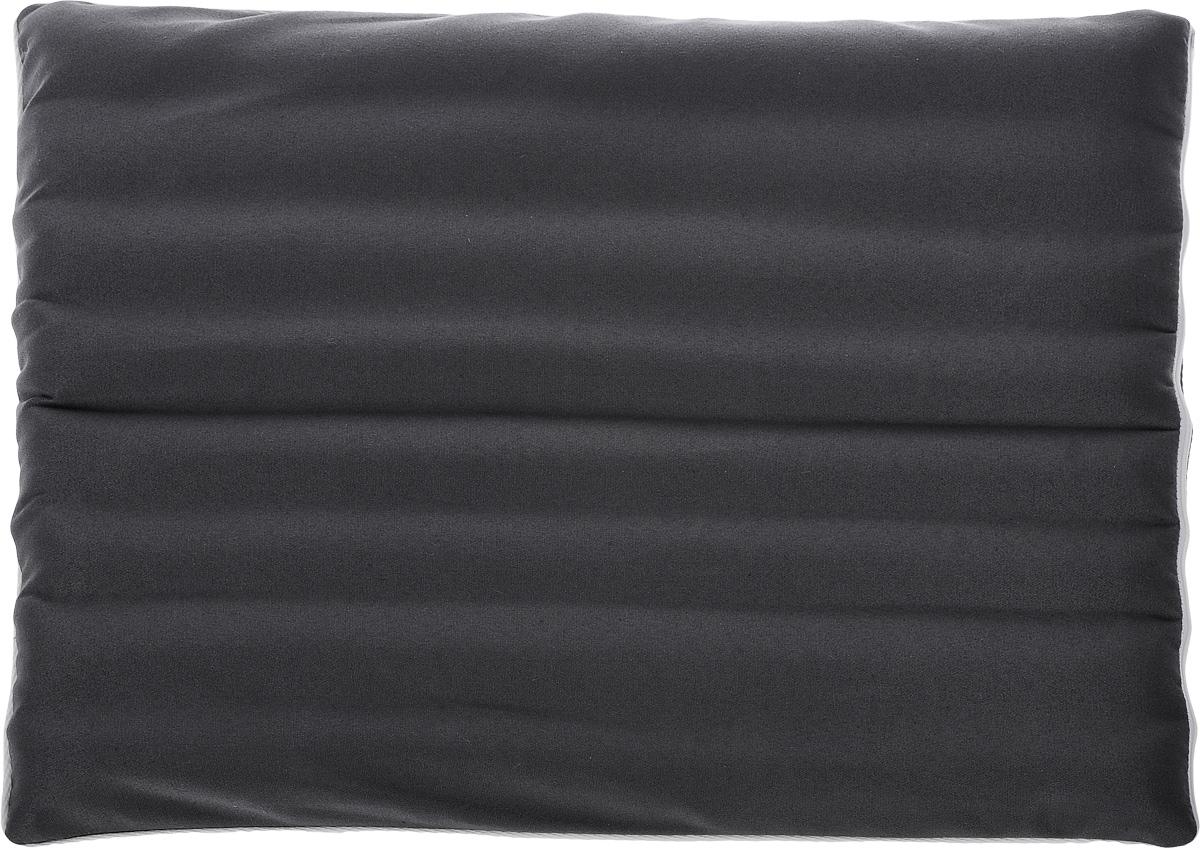 Подушка на автомобильное сиденье Smart Textile Гемо-комфорт авто, с чехлом, наполнитель: лузга гречихи, 40 х 50 смVT-1520(SR)Подушка Smart Textile Гемо-комфорт авто создана для тех, кто вынужден проводить много времени в автомобильном кресле. Наполнителем служат лепестки лузги гречихи, которые обеспечивают микромассаж кожи и поверхностных мышц, а также обеспечивают удобную посадку и снимают напряжение.Особенности подушки:- Хорошо проветривается.- Предупреждает потение.- Поддерживает комфортную температуру.- Обминается по форме тела.- Улучшает кровообращение.- Исключает затечные явления.- Предупреждает развитие заболеваний, связанных с сидячим образом жизни. Конструкция подушки, составленная из ряда валиков, обеспечивает еще больший массажный эффект, а плотная износостойкая ткань хорошо удерживает наполнитель, сохраняет форму подушки и продлевает срок службы изделия.Подушка также будет полезна дома и в офисе - при работе за компьютером, школьникам - при выполнении домашних работ, в любимом кресле перед телевизором.В комплект прилагается сменный чехол, выполненный из смесовой ткани, за счет чего уход за подушкой становится удобнее и проще.