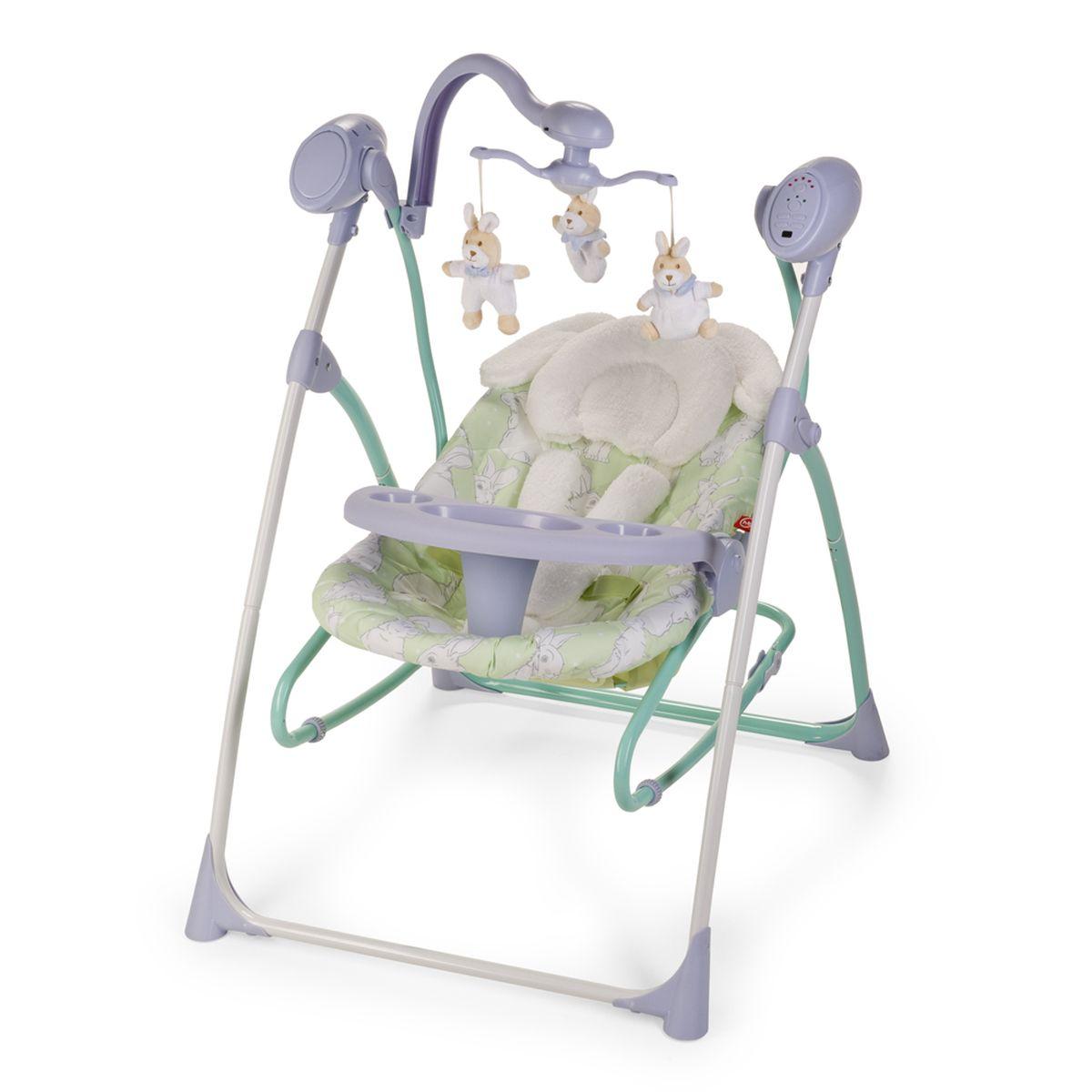 Happy Baby Электрокачели Luffy Lilac 4650069782513