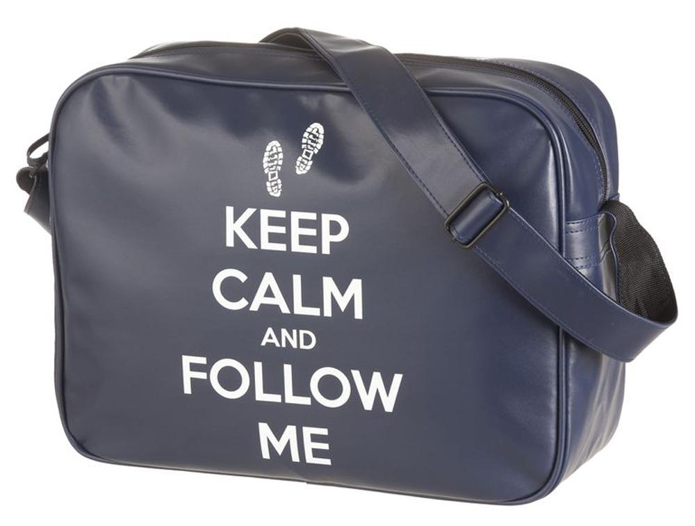 Walker Школьный ранец Fun Keep CalmVS16-SB-001Прочная и вместительная сумка Walker смотрится элегантно в любой ситуации. Идеальный выбор для школы , университета или досуга.