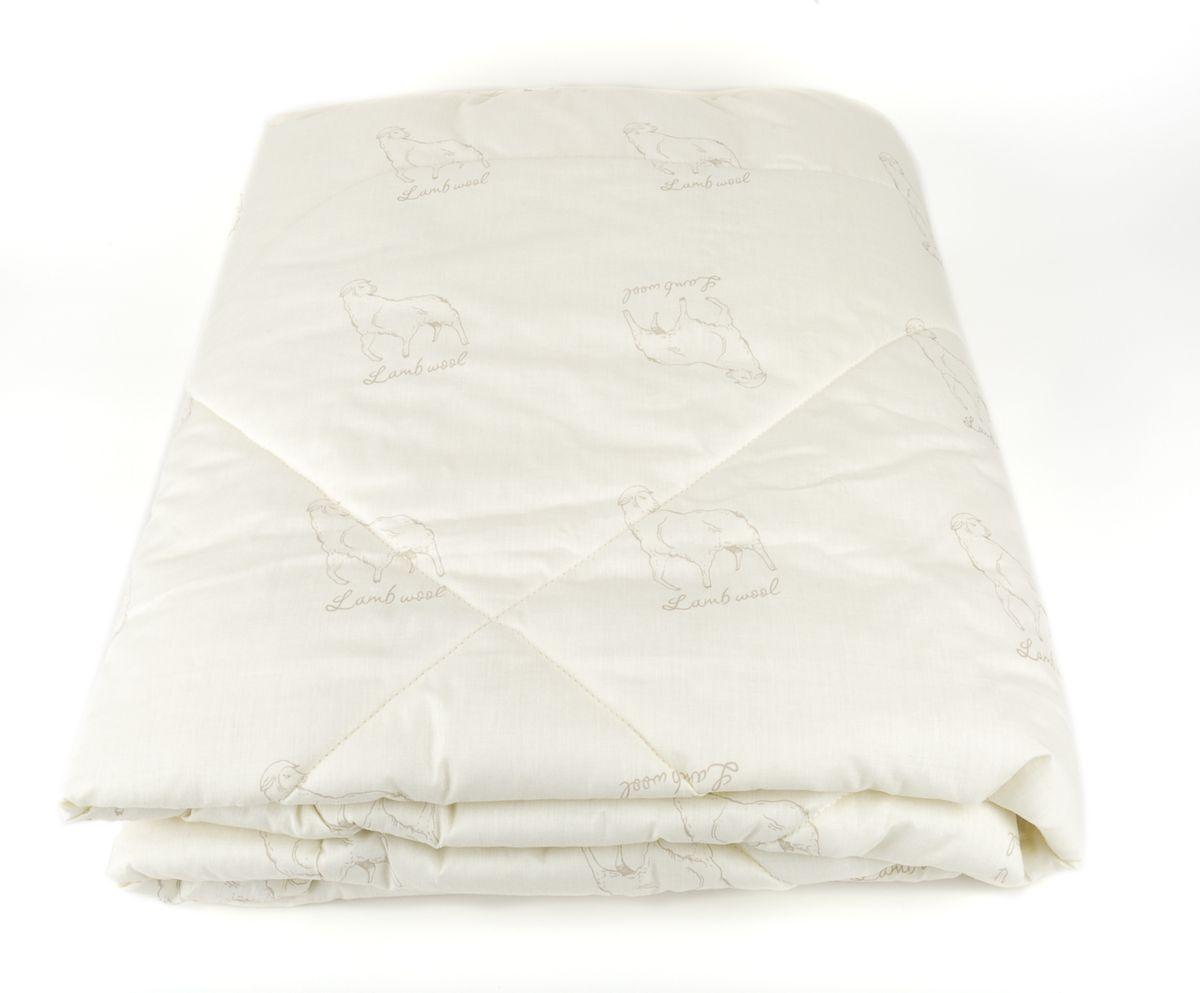 Одеяло МЕРИНОС-натурэль, 175х20020.04.15.0090Одеяло Меринос-натурэль из коллекции Classic. Состав: чехол - 100% поликоттон, наполнитель - 60% шерсть мериноса, 40% полиэфирное волокно. Детали: одеяло стеганое, классический крой, скругленные углы, чехол с эксклюзивным принтом Овечки. Цвет: экру. Размер: 175х200. Уход: Рекомендуется чистить в соответствии с символами, указанными на лейбле. Периодически проветривайте изделие на свежем воздухе в сухую солнечную погоду. Сушите в горизонтальном положении, Для длительного хранения и транспортировки используйте упаковку, в которой изделие находилось при покупке. Одеяло Меринос-натурэль оценят любители экологически чистых и натуральных материалов. В качестве наполнителя мы использовали выскококачественную шерсть мериноса - тонкорунных овец особой породы, выведенных в Италии. Такая шерсть отличается исключительными теплосберегающими свойствами наряду с удивительной легкостью, почти невесомостью. Воздухопроницаемая, гигроскопичная, она отлично впитывает влагу и моментально...