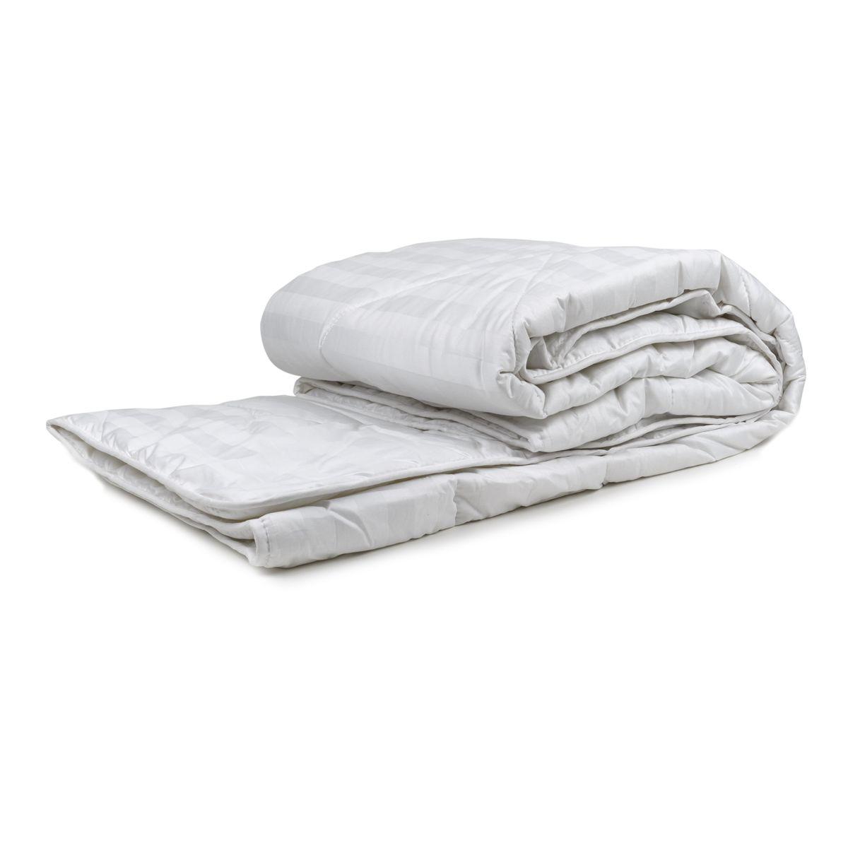 Одеяло стеганое Daily by Togas, наполнитель: шерсть, цвет: экрю, 200 х 210 см. 44.88210503Одеяло стеганое Daily by Togas мягкое и комфортное, рассчитано на сезон осень-зима. Наполнитель изготовлен из овечьей шерсти и полиэфирного волокна, такие одеяла согревают, впитывают и отводят влагу и дышат.Чехол одеяла выполнен из сатина, мягкого и шелковистого хлопкового материала. Это одеяло может стать нужным приобретением для дома или хорошим подарком на любое торжество.