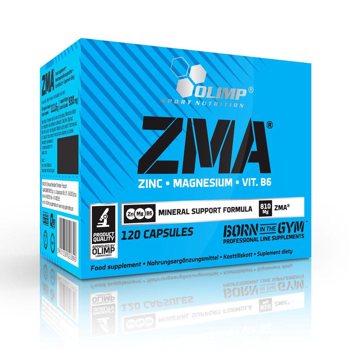 OLIMP ЗМА 120 капсO22890Olimp ZMA является продуктом, содержащим цинк и магний в хелатной форме, аминокислоты и витамин B6. Это анаболический комплекс нестероидного происхождения с антиоксидантной формулой. Индивидуальные вещества, содержащиеся в продукте, необходимы для повседневной защиты организма от различных неприятностей, таких как травмы, перенапряжения, связанные с интенсивными физическими нагрузками, отсутствие аппетита, и так называемый окислительный стресс. ZMA от Olimp способствует повышению уровня и активности тестостерона и увеличивает уровень IGF-I и лептина, который отвечает за более эффективное использования энергии, повышает силовые показатели и увеличивает выносливость организма. Препарат уменьшает катаболизм белка, поддерживает построение мышечной массы, предотвращает спазмы мышц, облегчает болевые ощущения в мышцах, вызванные физической нагрузкой. Olimp ZMA нейтрализует побочные эффекты перетренированности, способствует восстановлению организма и предотвращает возникновение...