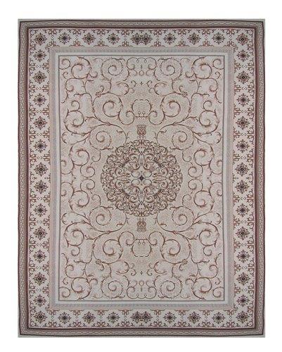 Ковер Oriental Weavers Кастл, цвет: серо-бежевый, 120 х 180 см. 520 Y12031Традиционные дизайны из Персии и Ирана на ковре высокой плотности подчеркнут изысканность и строгость любого классического интерьера.