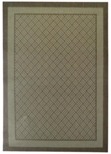 Коврик прикроватный Oriental Weavers Давн, цвет: коричневый, 80 см х 160 см. 1828 D16809Циновка из полипропилена-удобно, практично, современно