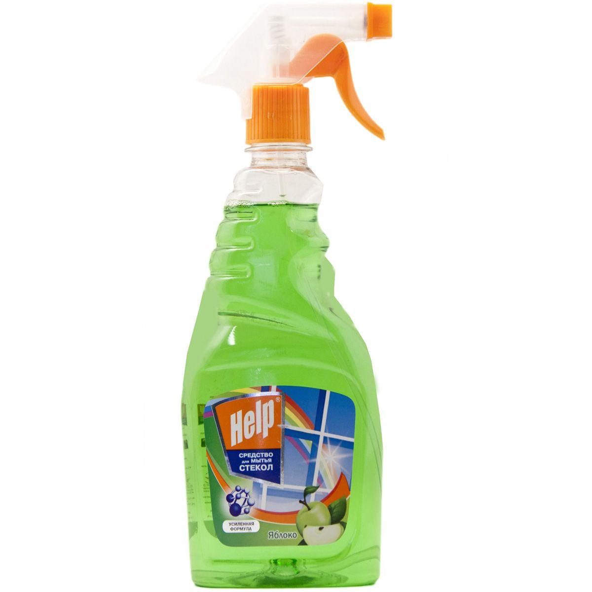 Средство для мытья стекол Help Яблоко, 750 мл4605845000718Эффективное средство для мытья стекол, окон, зеркал.Удаляет пятна. Смывает грязь, следы от пальцев.Защищает от пыли и придает блеск.- Не оставляет разводов