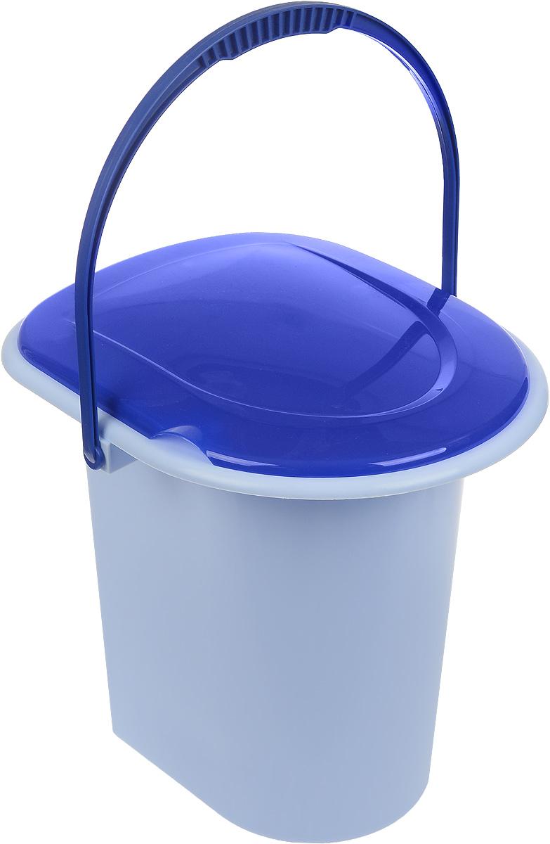 Ведро-туалет Альтернатива, цвет: голубой, синий, 18 лМ1316Ведро-туалет Альтернатива выполнено из пластика. Изделие предназначено для использования на даче или загородном доме, где нет центральной канализации. Оно удобное и прочное. Для удобства слива на дне имеется выемка под руку. Изделие оснащено ручкой для переноски. Размер (по верхнему краю): 38 х 33 см. Высота: 37 см. Объем: 18 л.