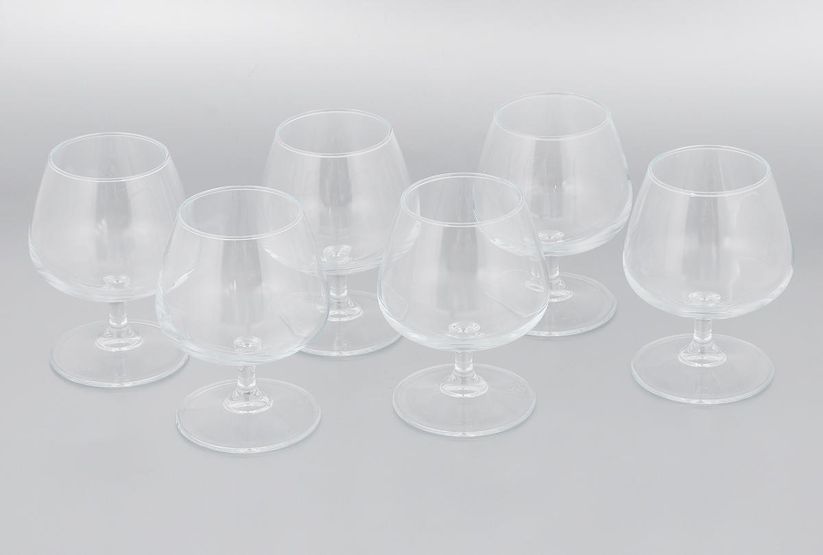 Набор бокалов Pasabahce Charante, 330 мл, 6 штVT-1520(SR)Набор Pasabahce Charante состоит из шести бокалов, выполненных из высококачественного стекла. Изделия оснащены невысокими ножками и предназначенные для подачи бренди и коньяка. Они излучают приятный блеск и издают мелодичный звон. Бокалы сочетают в себе элегантный дизайн и функциональность.Набор бокалов Pasabahce Charante прекрасно оформит праздничный стол и создаст приятную атмосферу за романтическим ужином. Можно мыть в посудомоечной машине.Диаметр бокала (по верхнему краю): 6 см. Высота бокала: 12,5 см. Диаметр основания: 7,5 см.