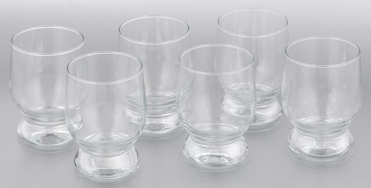 Набор стаканов Pasabahce Aquatic, 310 мл, 6 шт42975/Набор Pasabahce Aquatic состоит из шести стаканов, выполненных из закаленного натрий-кальций-силикатного стекла. Стаканы предназначены для подачи сока, компота и других напитков. Стаканы сочетают в себе элегантный дизайн и функциональность. Набор стаканов Pasabahce Aquatic идеально подойдет для сервировки стола и станет отличным подарком к любому празднику. Можно использовать в морозильной камере и микроволновой печи. Можно мыть в посудомоечной машине. Диаметр стакана (по верхнему краю): 7 см. Высота стакана: 10,5 см.