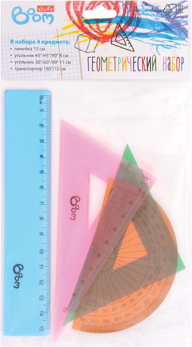 Boom Геометрический набор Studio  линейка угольник для плиткореза rubi