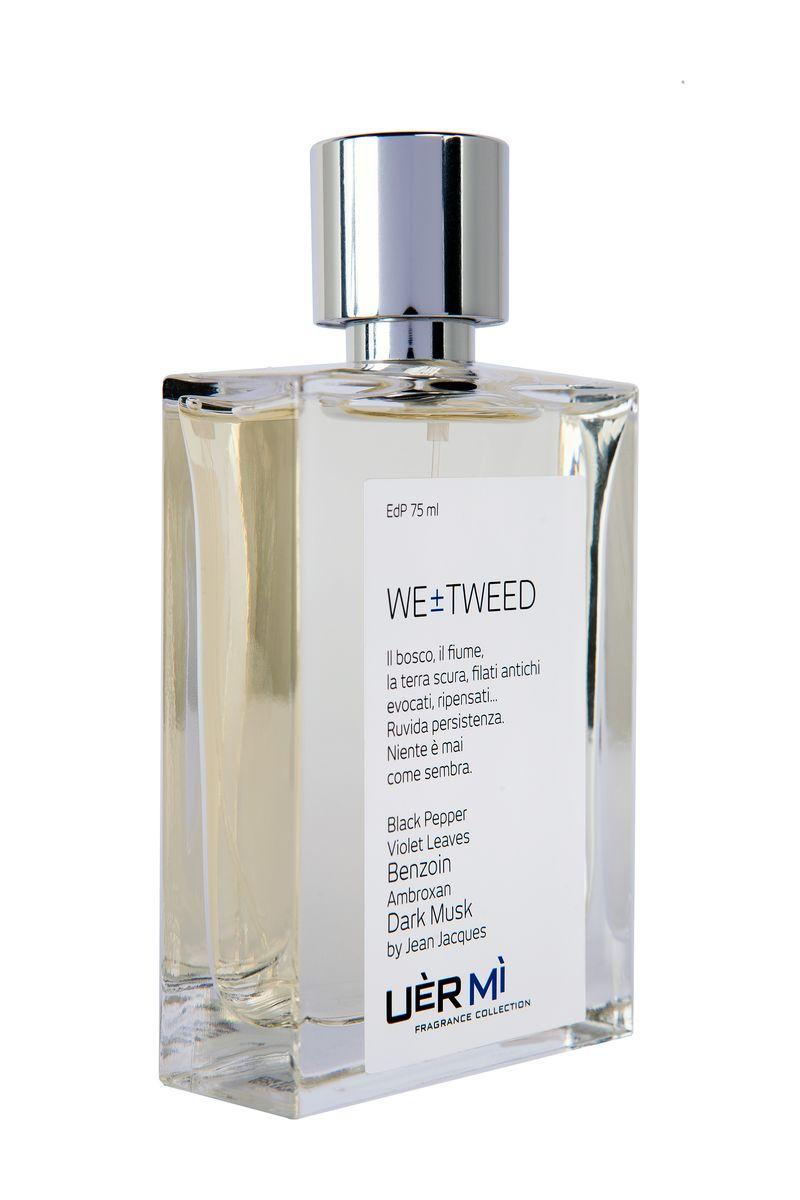 Uermi Tweed Парфюмерная вода, 75мл28420_красныйWE Tweed. Твид абсолютно очарователен! Старинный и супер-современный, грубый и утонченный. По мнению парфюмера Жан Жак аромат подчеркивает грани Вашей натуры. Ноты черного перца, листьев фиалки, бензоина, амброксана и мускуса звучат удивительно контрастно!