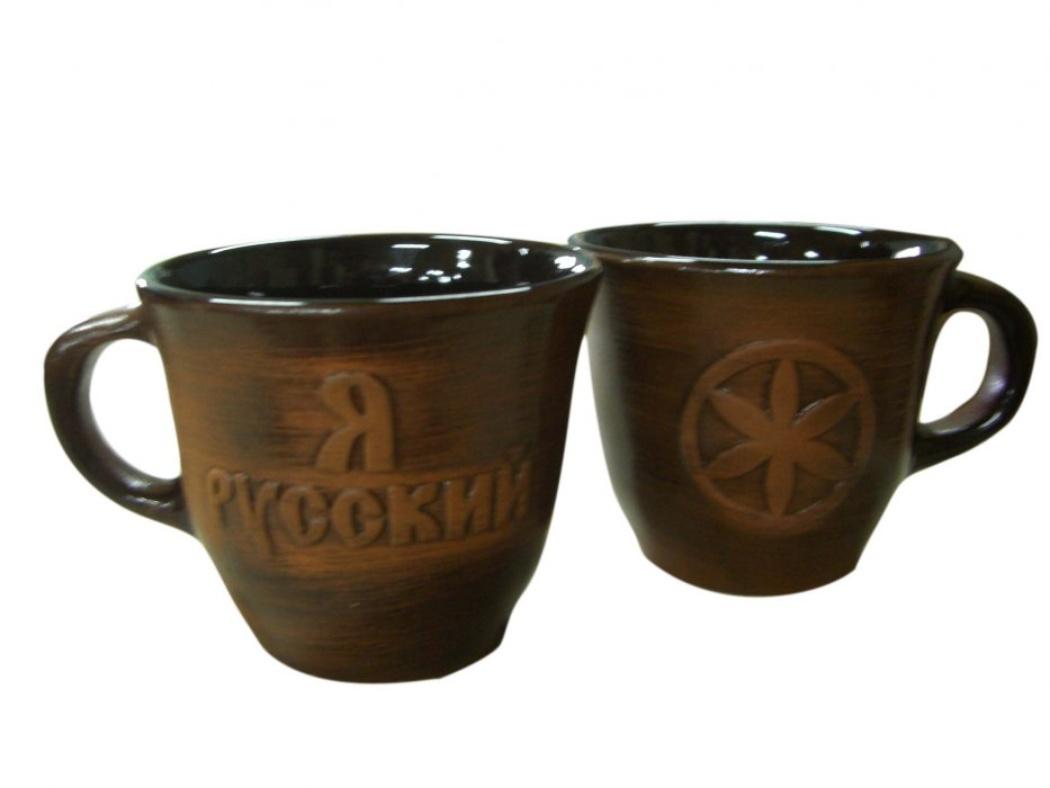 Чашка Борисовская керамика Старина, рельефная, 300 мл115510Удобная чашка Борисовская керамика Старина предназначена для повседневного использования. Она выполнена из высококачественной искусственно состаренной керамики. Природные свойства этого материала позволяют долго сохранять температуру напитка, даже, если вы пьете что-то холодное. Внешние стенки чашки оформлены красивым и патриотичным рельефом.