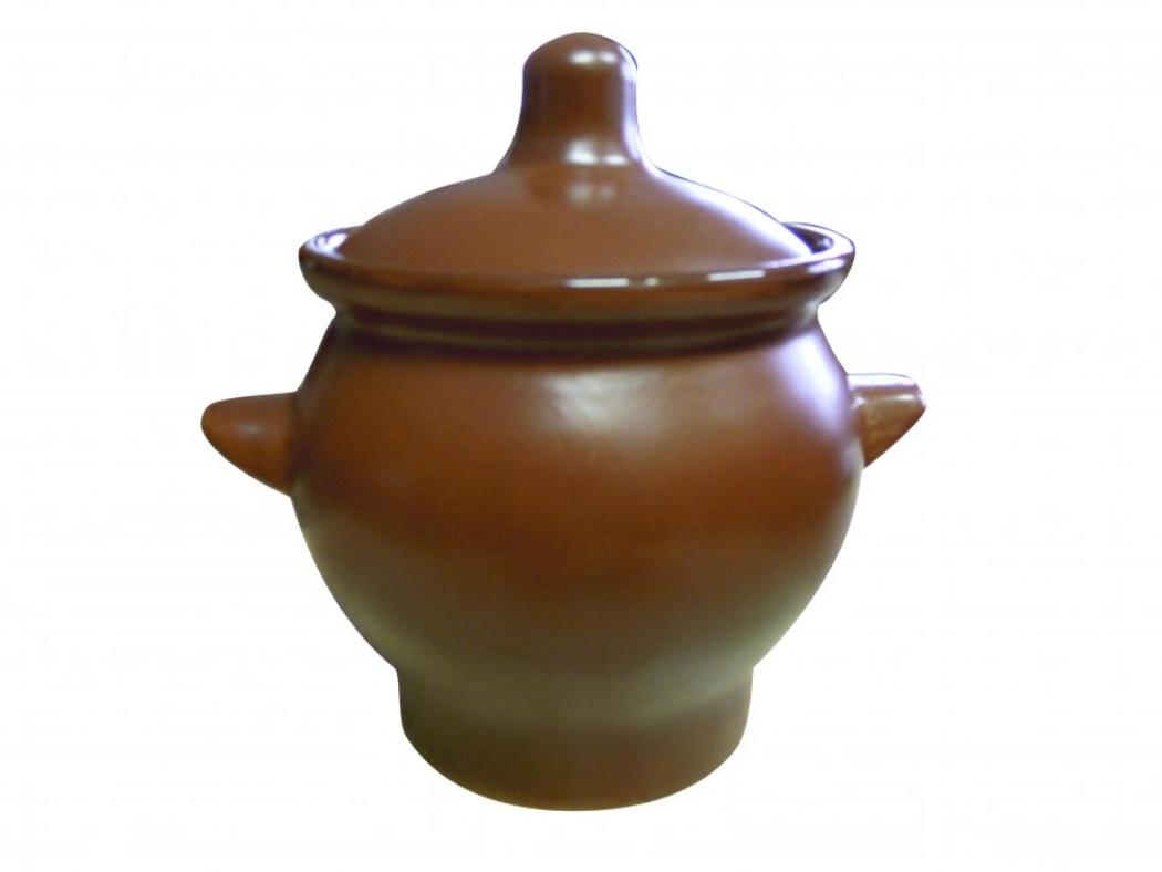 Горшок для жаркого Борисовская керамика Шелк, с ручками, 650 мл94672Горшок для жаркого Борисовская керамика Шелк выполнен из высококачественной керамики. Внешняя поверхность гладкая, на ощупь напоминающая шелк. Керамика абсолютно безопасна, поэтому изделие придется по вкусу любителям здоровой и полезной пищи. Горшок для запекания с крышкой очень вместителен и имеет удобную форму. Идеально подходит для одной порции. Уникальные свойства красной глины и толстые стенки изделия обеспечивают эффект русской печи при приготовлении блюд. Это значит, что еда будет очень вкусной, сочной и здоровой.Посуда жаропрочная. Можно использовать в духовке и микроволновой печи.
