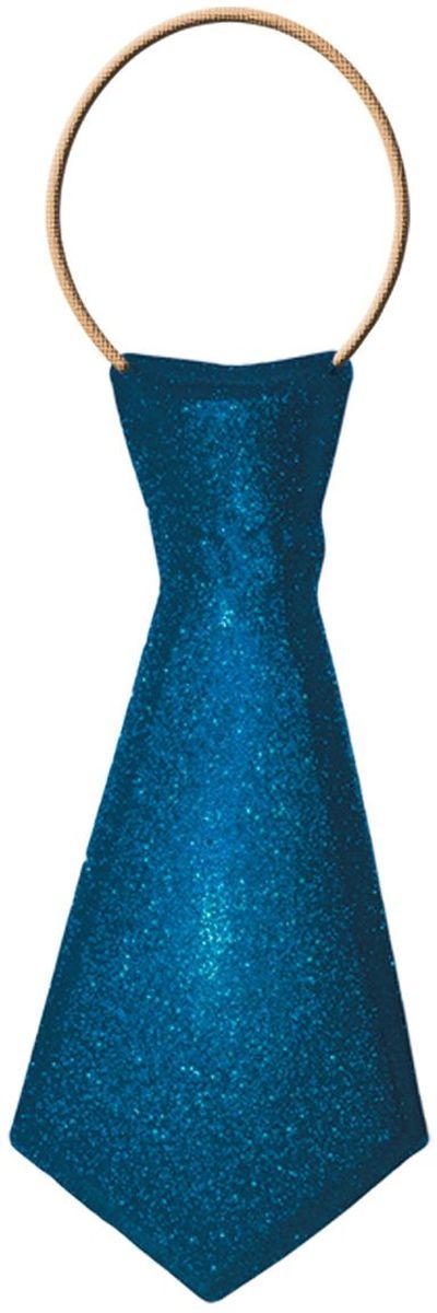 Partymania Галстук карнавальный 32 см T1232 цвет синий