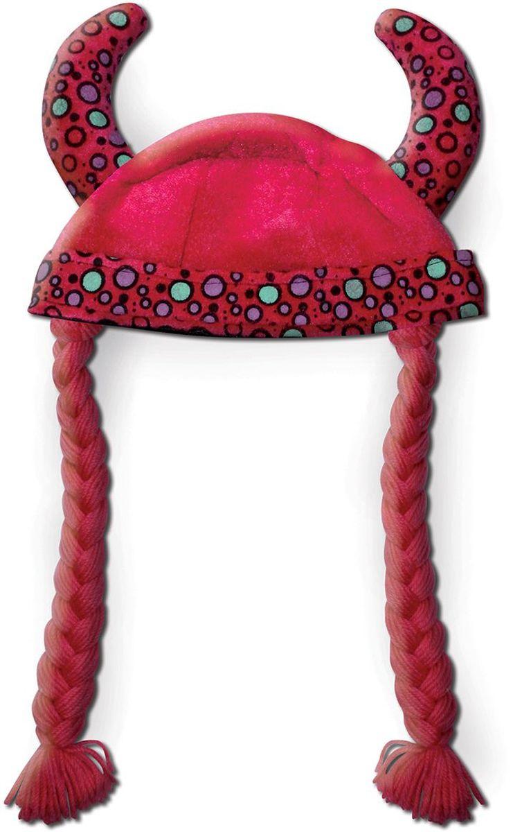 Partymania Шляпа карнавальная Викинг цвет красный