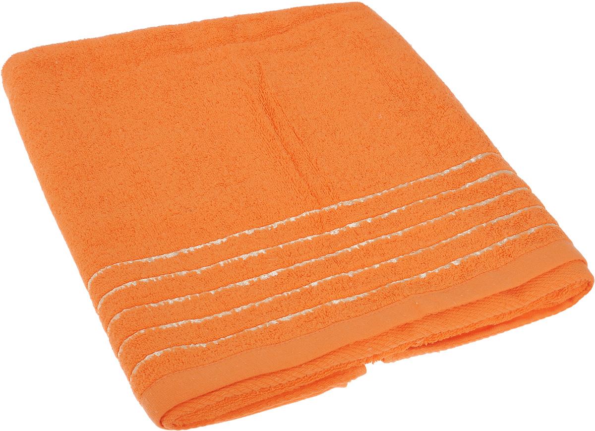 Полотенце Soavita Olivia, цвет: оранжевый, 70 х 140 см64013Полотенце Soavita Olivia выполнено из 100% хлопка. Изделие отлично впитывает влагу, быстро сохнет, сохраняет яркость цвета и не теряет форму даже после многократных стирок. Полотенце очень практично и неприхотливо в уходе. Оно создаст прекрасное настроение и украсит интерьер в ванной комнате.