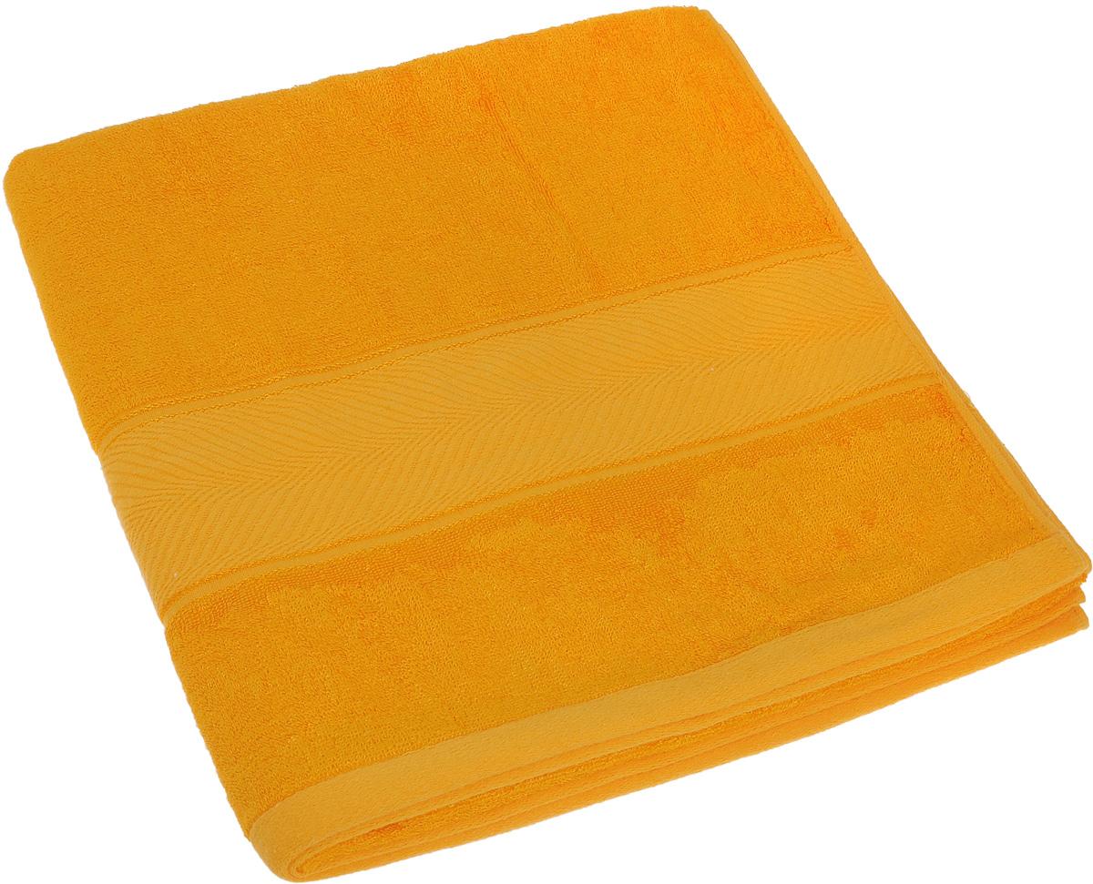 Полотенце Soavita Stefano, цвет: желтый, 70 х 140 см64106Полотенце Soavita Stefano выполнено из 100% бамбукового волокна. Изделие отлично впитывает влагу, быстро сохнет, сохраняет яркость цвета и не теряет форму даже после многократных стирок. Полотенце очень практично и неприхотливо в уходе. Оно создаст прекрасное настроение и украсит интерьер в ванной комнате.