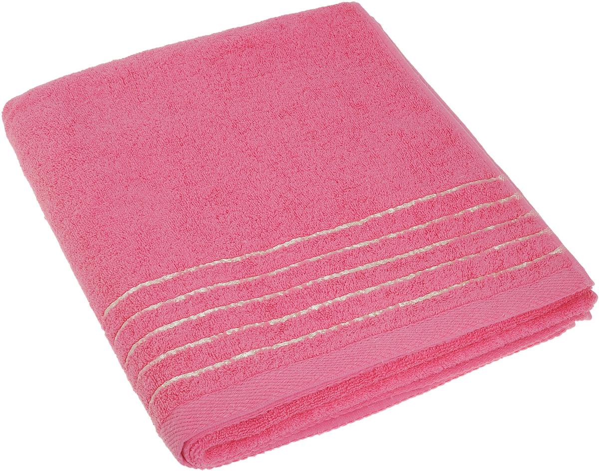 Полотенце Soavita Olivia, цвет: розовый, 70 х 140 см64012Полотенце Soavita Olivia выполнено из 100% хлопка. Изделие отлично впитывает влагу, быстро сохнет, сохраняет яркость цвета и не теряет форму даже после многократных стирок. Полотенце очень практично и неприхотливо в уходе. Оно создаст прекрасное настроение и украсит интерьер в ванной комнате.