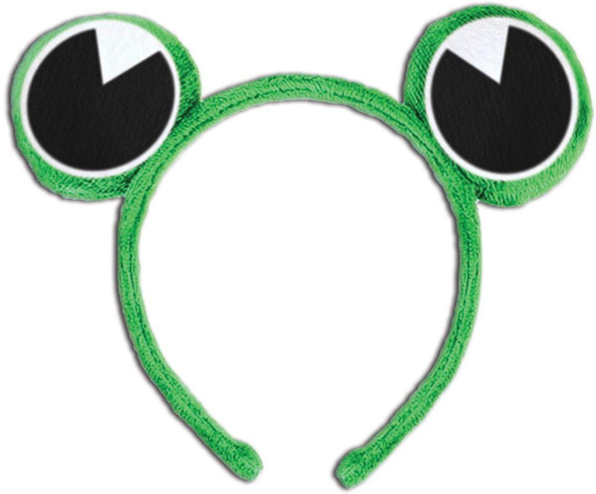 Partymania Ободок детский Веселые зверята Лягушка