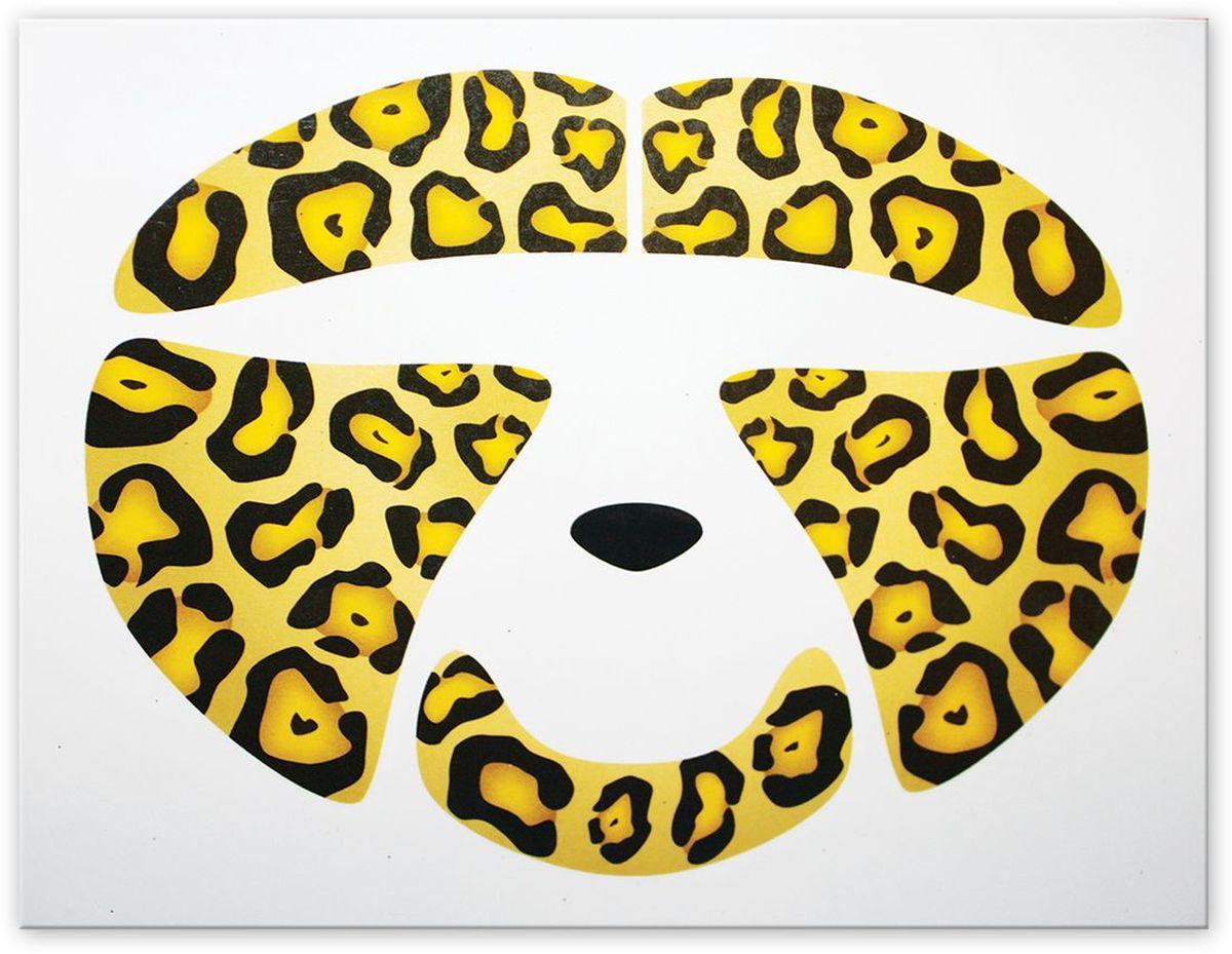 Partymania Украшение-стикер для лица Леопард
