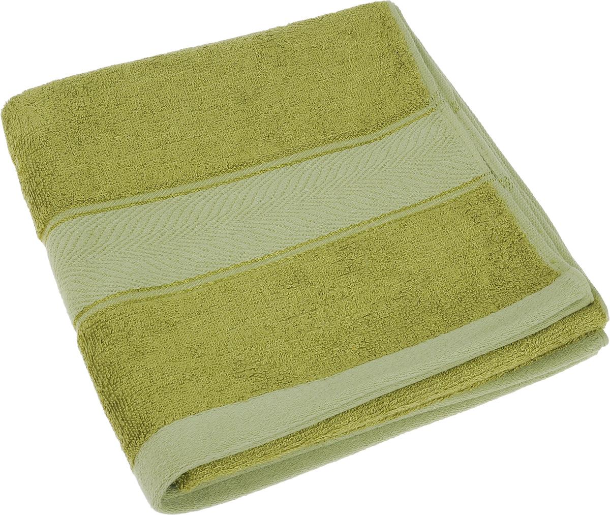 Полотенце Soavita Stefano, цвет: зеленый, 50 х 100 см64099Полотенце Soavita Stefano выполнено из 100% бамбукового волокна. Изделие отлично впитывает влагу, быстро сохнет, сохраняет яркость цвета и не теряет форму даже после многократных стирок. Полотенце очень практично и неприхотливо в уходе. Оно создаст прекрасное настроение и украсит интерьер в ванной комнате.