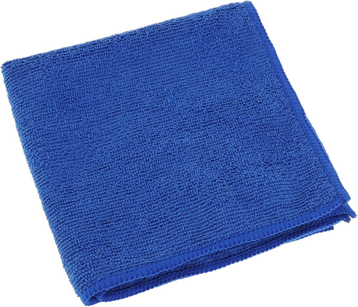 Салфетка для кухни Soavita, цвет: синий, 30 х 30 см63845Салфетка Soavita выполнена из микрофайбера (80% полиэстер и 20% полиамид). Изделие отлично впитывает влагу, быстро сохнет, сохраняет яркость цвета и не теряет форму даже после многократных стирок. Салфетка подходит для вытирания легких загрязнений и полировки. Протертая поверхность становится идеально чистой, сухой и блестящей. Такая салфетка очень практична и неприхотлива в уходе. Рекомендуется стирка при температуре 40°C.