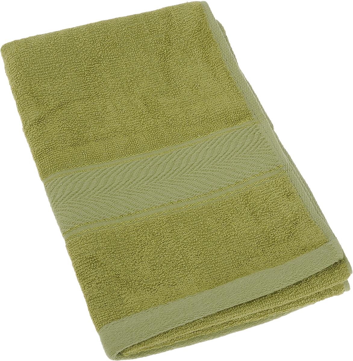 Полотенце Soavita Stefano, цвет: зеленый, 30 х 70 см64095Полотенце Soavita Stefano выполнено из 100% бамбукового волокна. Изделие отлично впитывает влагу, быстро сохнет, сохраняет яркость цвета и не теряет форму даже после многократных стирок. Полотенце очень практично и неприхотливо в уходе. Оно создаст прекрасное настроение и украсит интерьер в ванной комнате.