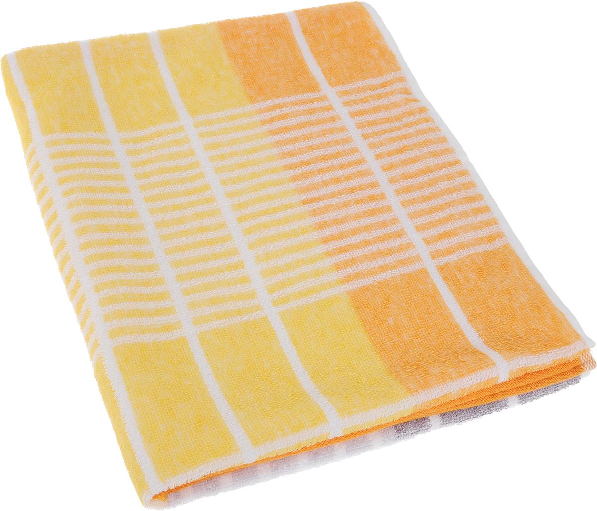 Полотенце Soavita Твист, цвет: оранжевый, 50 х 90 см60385Полотенце Soavita Твист выполнено из 100% хлопка. Изделие отлично впитывает влагу, быстро сохнет, сохраняет яркость цвета и не теряет форму даже после многократных стирок. Полотенце очень практично и неприхотливо в уходе. Оно создаст прекрасное настроение и украсит интерьер.