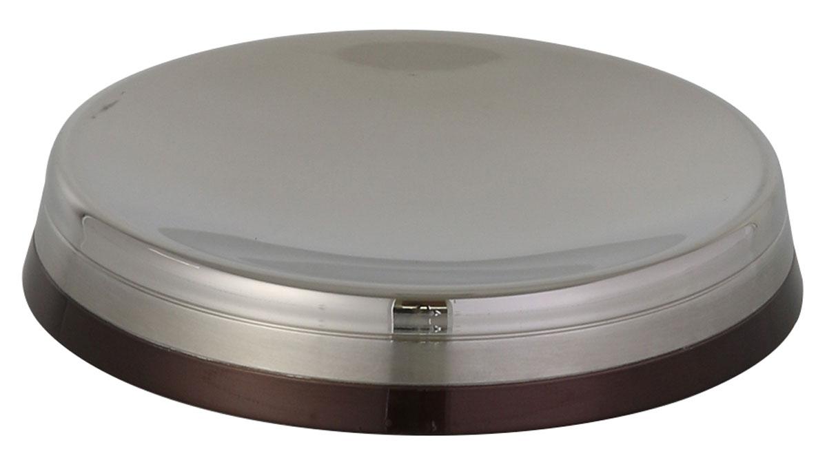 Мыльница Axentia Lucca122362Настольная мыльница Axentia Lucca изготовлена из нержавеющей стали, долговечного материала, который не боится влажности и механического воздействия. Изделие обработано тремя способами: глянцевая, матовая полировка и бронзовое покрытие. Такая мыльница притягивает взгляд и прекрасно подойдет к интерьеру ванной комнаты.