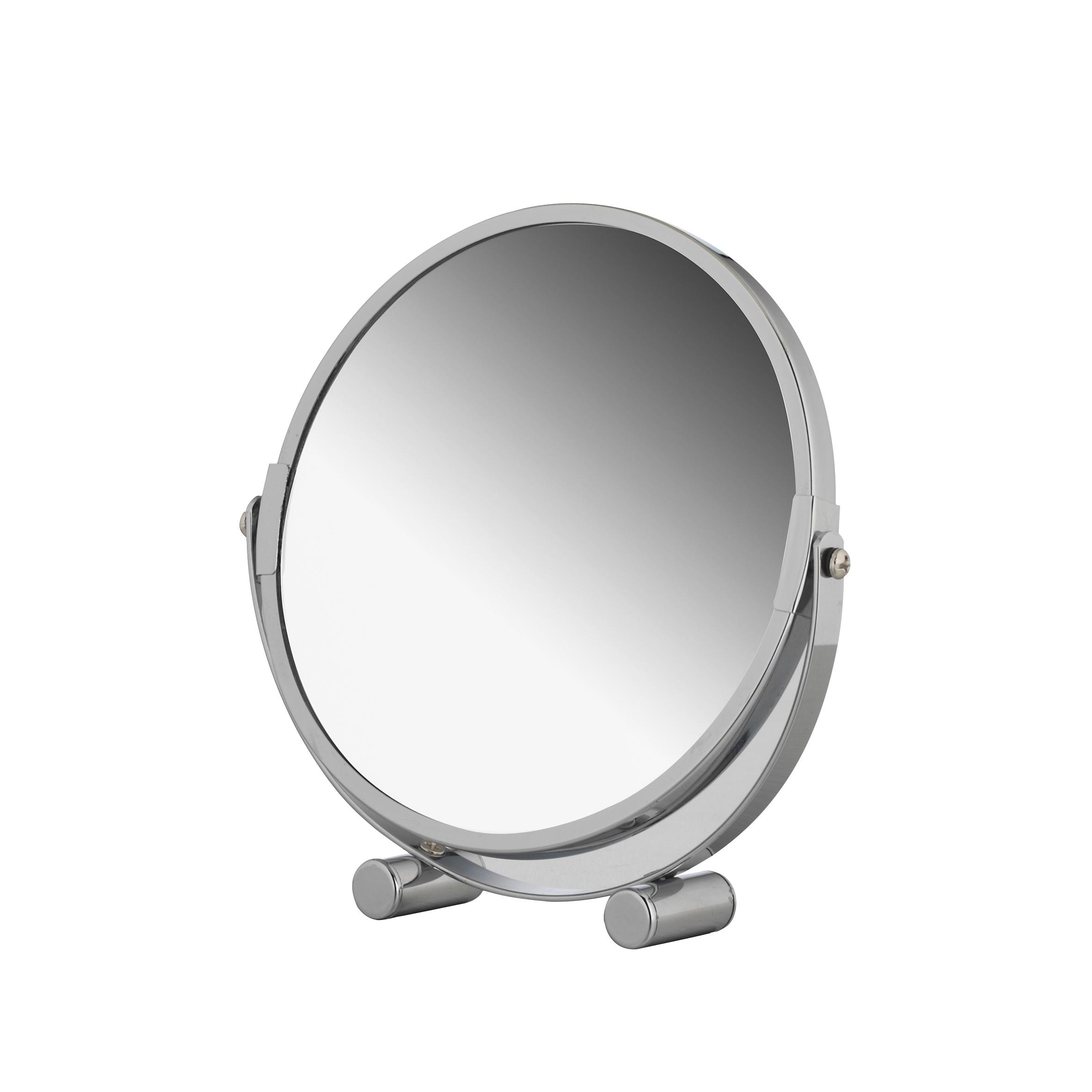 """Зеркало косметическое """"Axentia"""", настольное, диаметр 17 см 282800"""