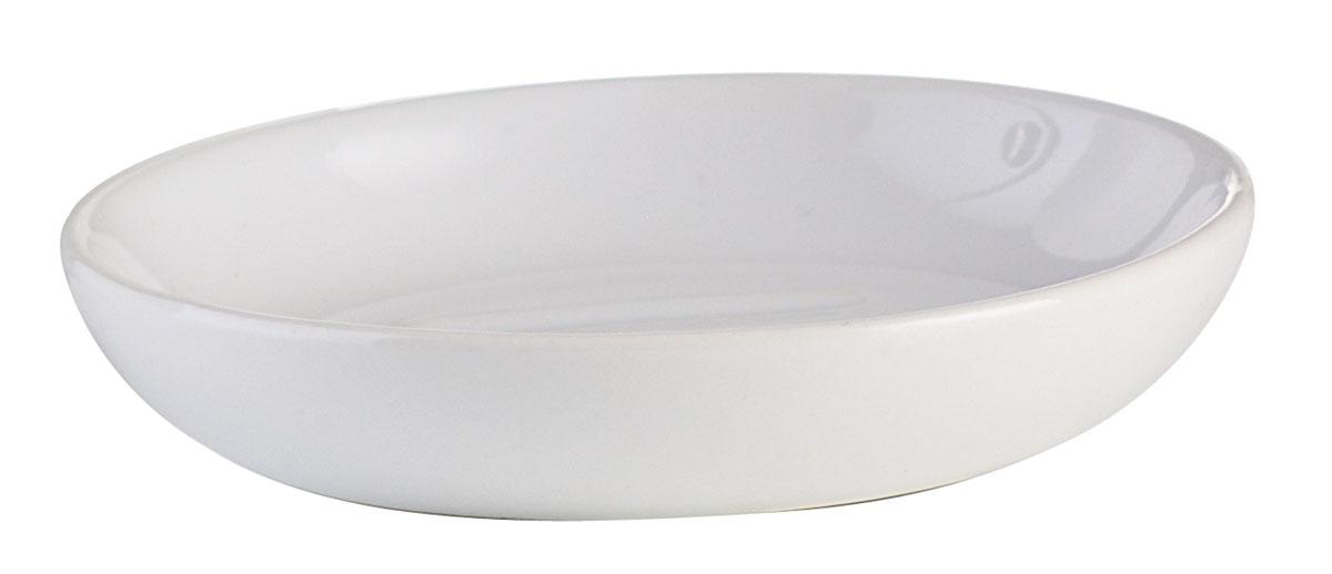 Мыльница Axentia Leandr, диаметр 10,5 см282411Круглая мыльница Axentia Leandr изготовлена из натуральной и элегантной керамики белого цвета. Мыльница Axentia Leandr прекрасно дополнит интерьер вашей кухни или ванной. Изделие отлично сочетается с другими аксессуарами из коллекции Leandr. Диаметр мыльницы: 10,5 см. Высота мыльницы: 2,2 см.