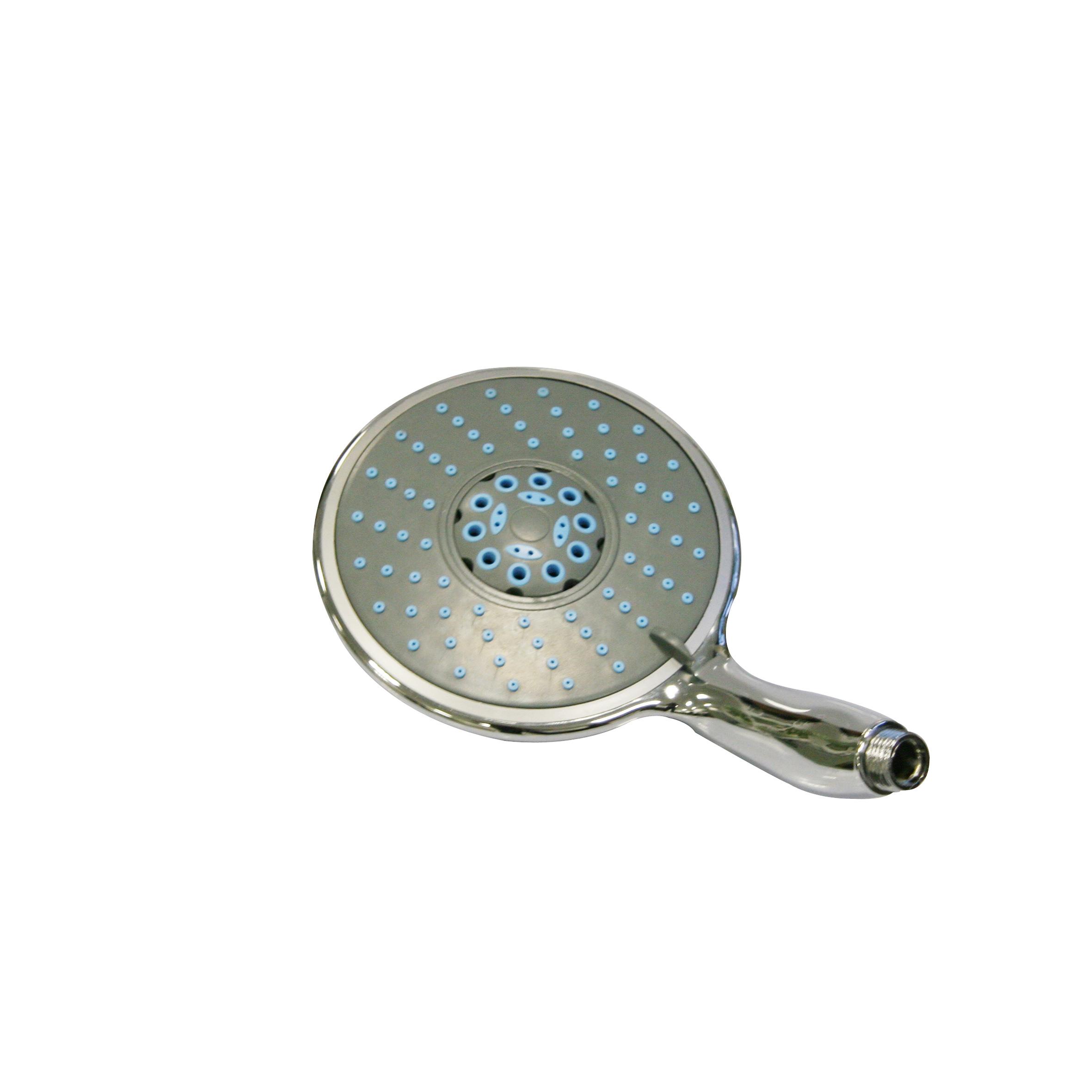 Лейка для душа Top Star Spa, 5 режимов655.01Широкая душевая лейка Top Star Spa, изготовленная из прочного пластика и нержавеющей стали, воплощает в себе стильную простоту и комфорт в использовании. Лейка имеет 5 режимов переключения, что позволяет принимать душ, омывая всетело, и эффективно промывать волосы от шампуня. Изделие прекрасно подойдет для интерьера любой ванной комнаты.Душевая лейка Top Star Spa удобна и практична в работе.Диаметр лейки: 15 см.