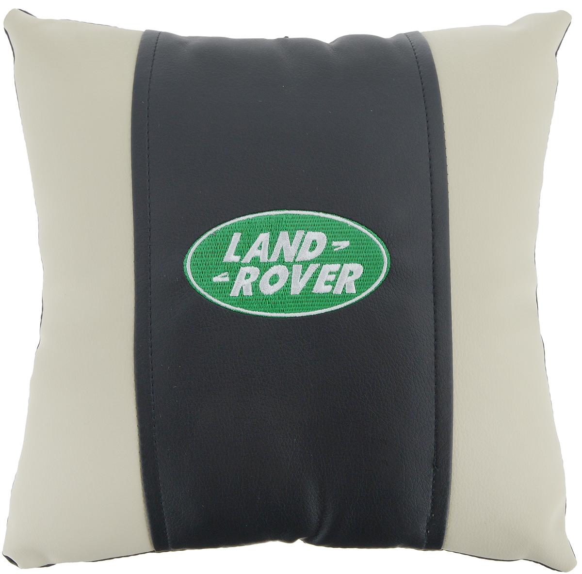 Подушка на сиденье Autoparts Land Rover, 30 х 30 смМ062Подушка на сиденье Autoparts Land Rover создана для тех, кто весь свой день вынужден проводить за рулем. Чехол выполнен из высококачественной дышащей экокожи. Наполнителем служит холлофайбер. На задней части подушки имеется змейка. Особенности подушки: - Хорошо проветривается. - Предупреждает потение. - Поддерживает комфортную температуру. - Обминается по форме тела. - Улучшает кровообращение. - Исключает затечные явления. - Предупреждает развитие заболеваний, связанных с сидячим образом жизни. Подушка также будет полезна и дома - при работе за компьютером, школьникам - при выполнении домашних работ, да и в любимом кресле перед телевизором.