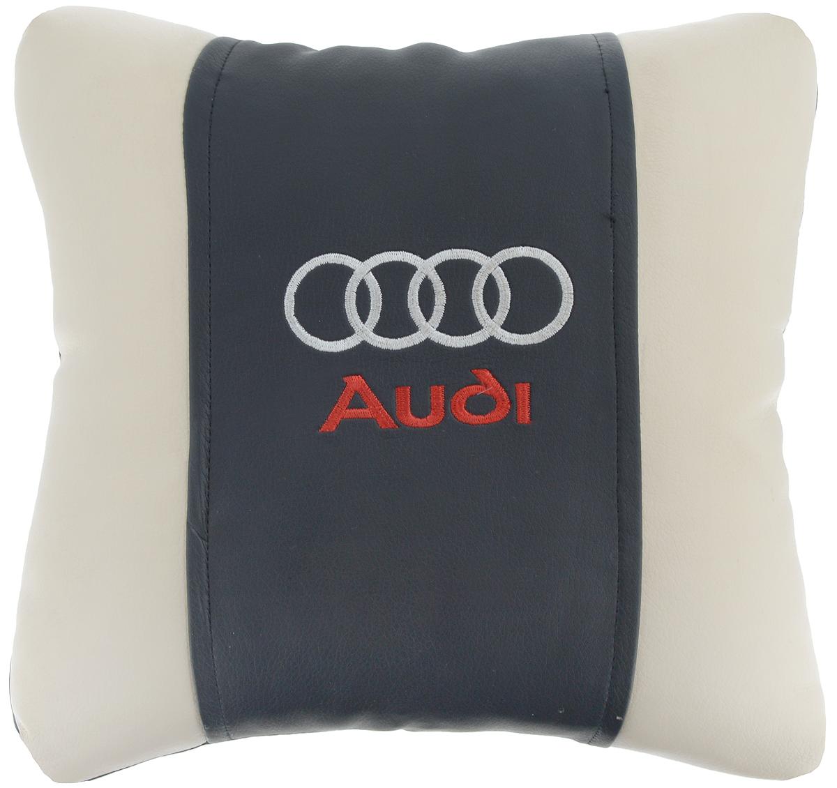Подушка на сиденье Autoparts Audi, 30 х 30 смМ040Подушка на сиденье Autoparts Audi создана для тех, кто весь свой день вынужден проводить за рулем. Чехол выполнен из высококачественной дышащей экокожи. Наполнителем служит холлофайбер. На задней части подушки имеется змейка. Особенности подушки: - Хорошо проветривается. - Предупреждает потение. - Поддерживает комфортную температуру. - Обминается по форме тела. - Улучшает кровообращение. - Исключает затечные явления. - Предупреждает развитие заболеваний, связанных с сидячим образом жизни. Подушка также будет полезна и дома - при работе за компьютером, школьникам - при выполнении домашних работ, да и в любимом кресле перед телевизором.