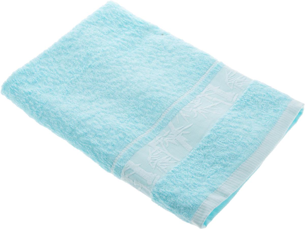 Полотенце Soavita Chloe, цвет: светло-голубой, 70 х 130 смKOC_SOL249_G4Полотенце Soavita Chloe выполнено из 100% бамбукового волокна. Изделие отлично впитывает влагу, быстро сохнет, сохраняет яркость цвета и не теряет форму даже после многократных стирок. Полотенце очень практично и неприхотливо в уходе. Оно создаст прекрасное настроение и украсит интерьер в ванной комнате.