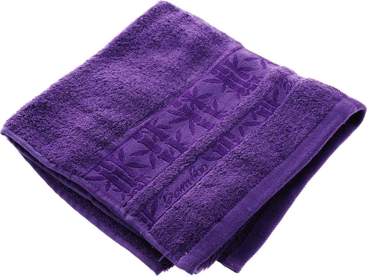 Полотенце Soavita Daniel, цвет: лиловый, 50 х 70 смUP210DFПолотенце Soavita Daniel выполнено из 100% бамбукового волокна. Изделие отлично впитывает влагу, быстро сохнет, сохраняет яркость цвета и не теряет форму даже после многократных стирок. Полотенце очень практично и неприхотливо в уходе. Оно создаст прекрасное настроение и украсит интерьер в ванной комнате.Рекомендуется стирка при температуре 40°C.