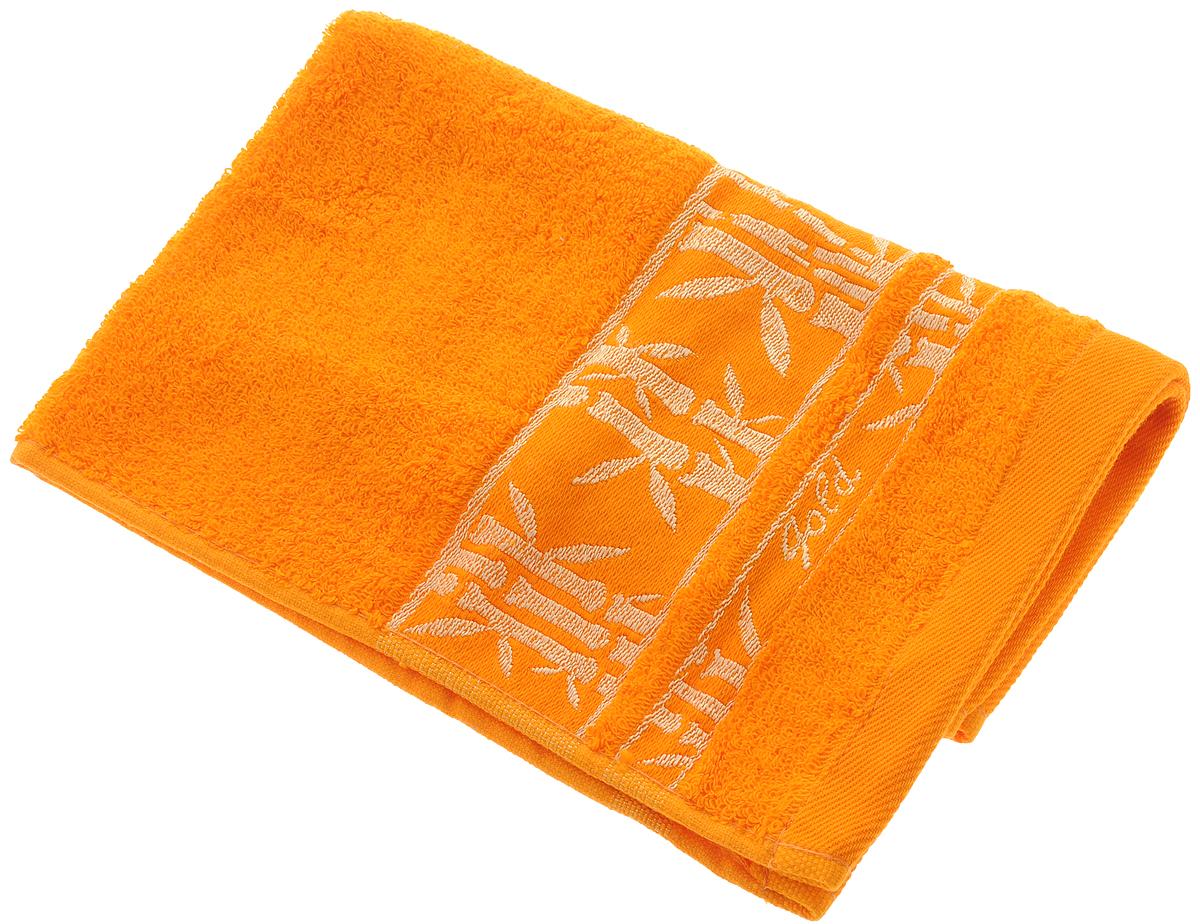 Полотенце Soavita Andrea, цвет: оранжевый, 30 х 50 см64086Полотенце Soavita Andrea выполнено из 100% бамбукового волокна. Изделие отлично впитывает влагу, быстро сохнет, сохраняет яркость цвета и не теряет форму даже после многократных стирок. Полотенце очень практично и неприхотливо в уходе. Оно создаст прекрасное настроение и украсит интерьер в ванной комнате.