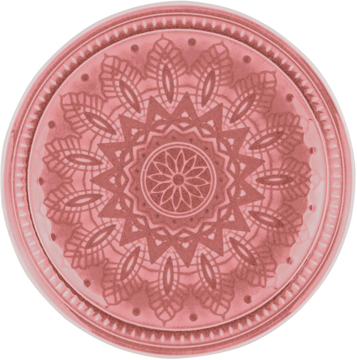 Набор тарелок десертных Tongo, цвет: розовый само, диаметр 20,5 см, 6 штPL-205p Tongo Набор тарелок десертныхТрадиционная этническая посуда Индонезии. Декоративная техника придает посуде этнический шарм, с элементами старения, в виде паутинки мелких трещинок на поверхности эмали, что повышает ее привлекательность и ценность среди посудных аналогов. В процессе эксплуатации мелкие трещины так же могут проявляться на внутренних поверхностях кружек и салатников, - что так же является задумкой дизайнеров, заложенной в производственной технологии.